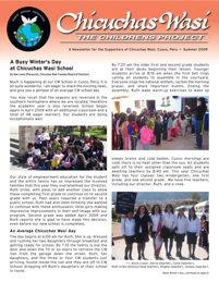 - CW Newsletter - Summer 2009